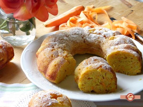 Prajitura dietetica cu morcovi