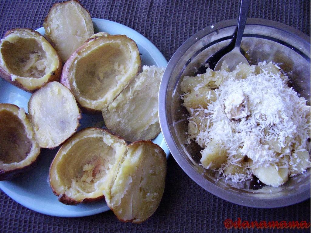 cartofi scobiti si umplutura