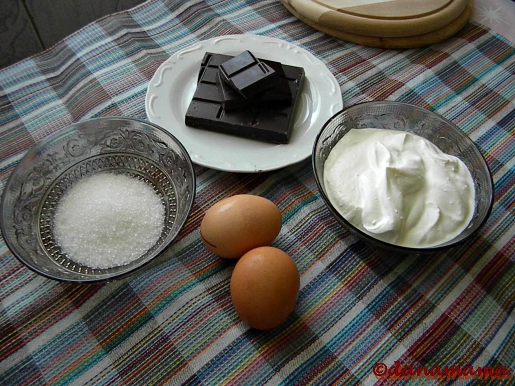 ingrediente spuma de ciocolata