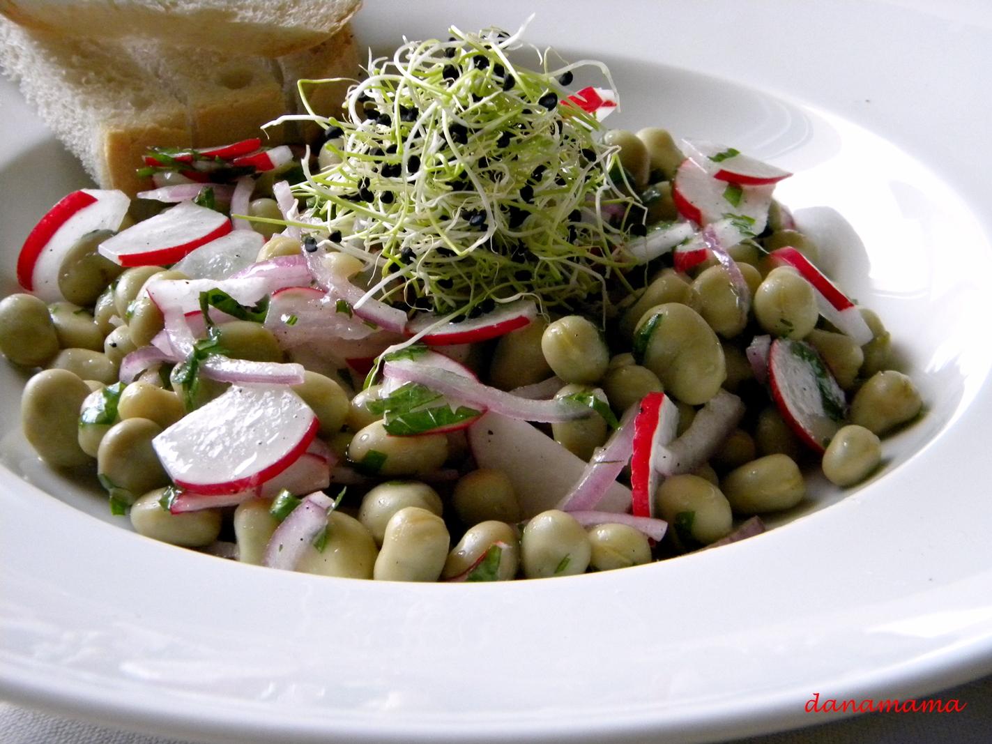 salata de bob