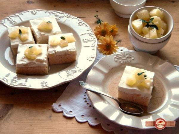 prajitura cu lapte de cocos si ananas