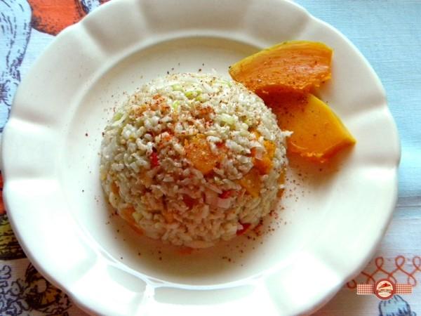 orez cu dovleac