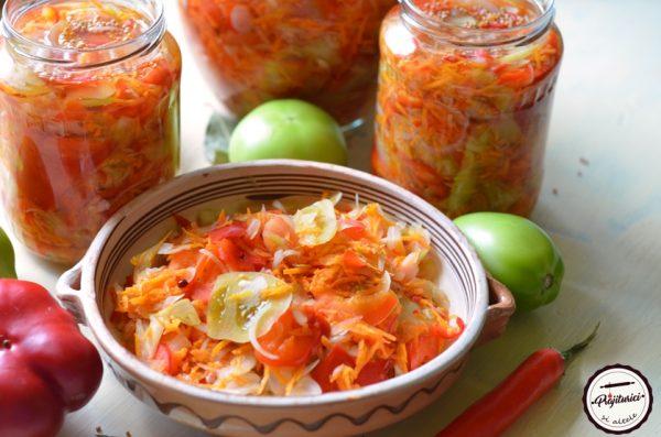 salata de toamna la borcan
