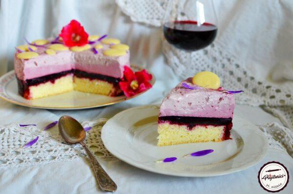 tort in trei culori