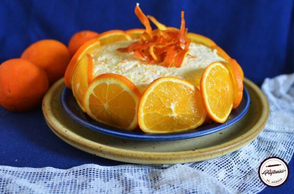 Prajitura delicioasa cu crema de portocale