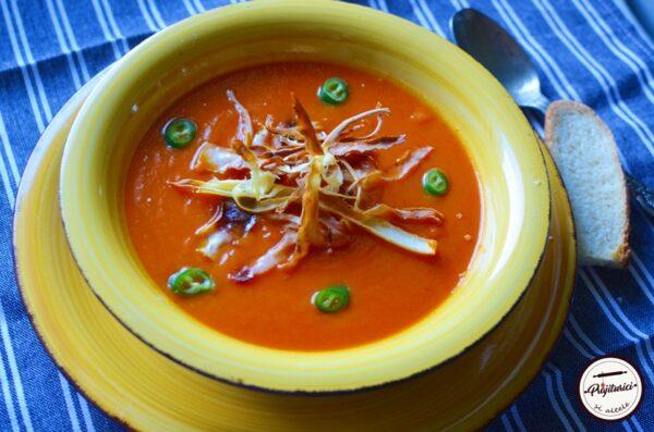 Supa de legume coapte
