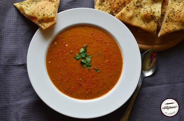 supa picanta de linte