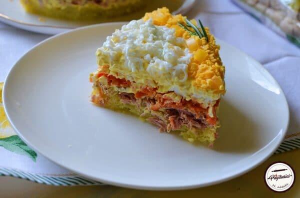Salata Mimoza cu ton